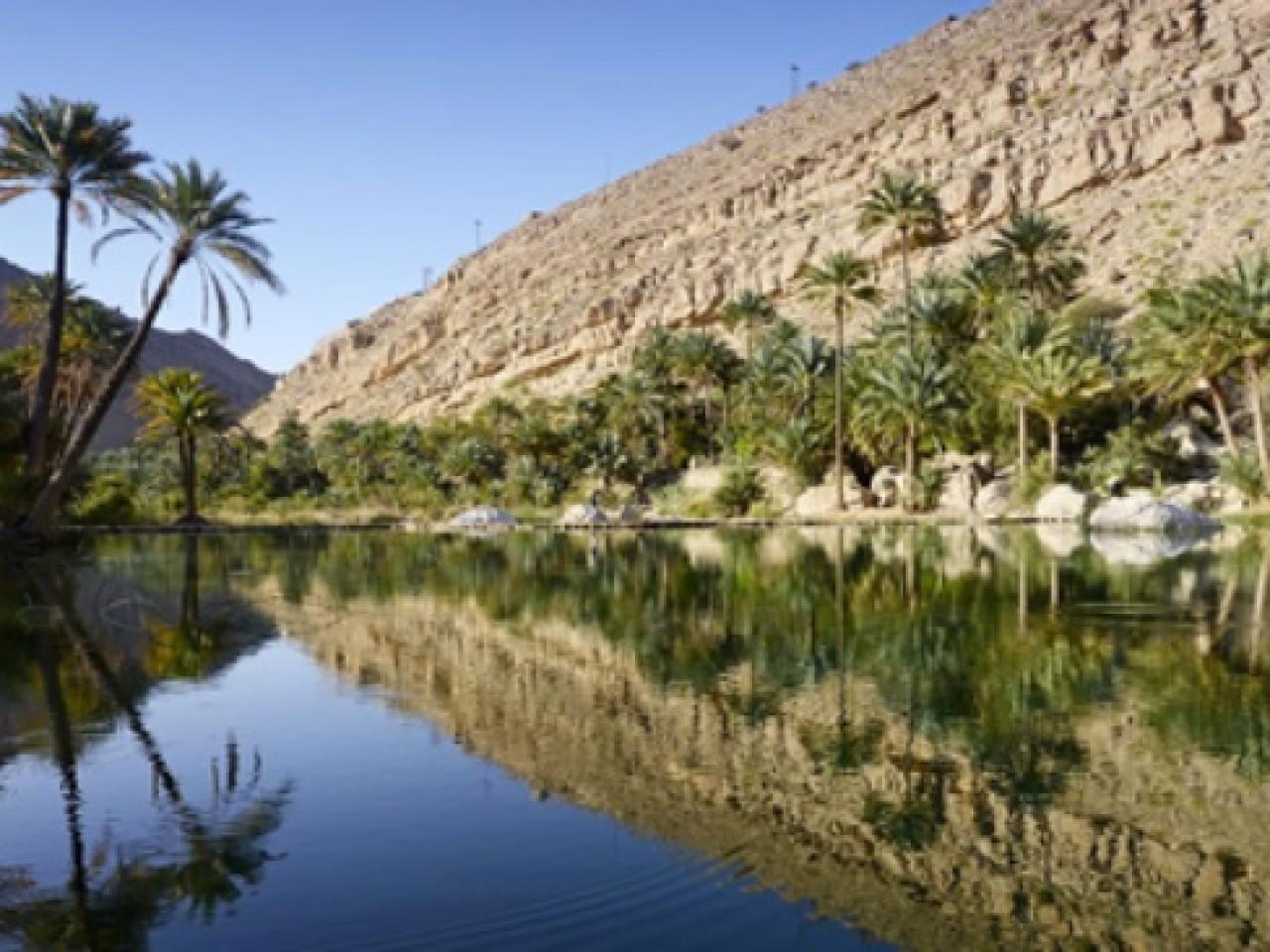 Oro del Mare sulle onde dell'Oman
