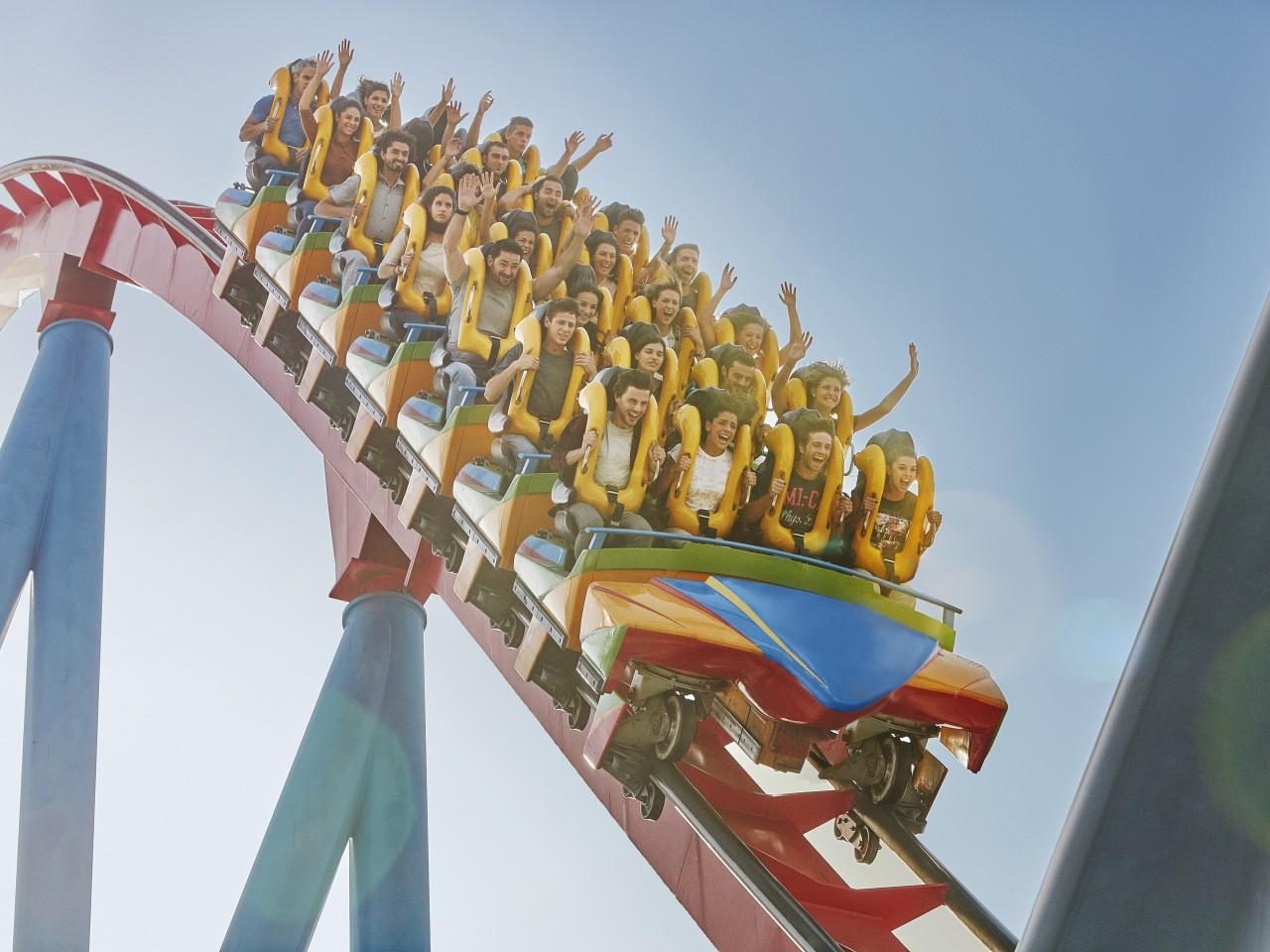 OVER 40 RIDES TO EXPERIENCE